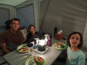 The results of the kitchen camper; a victory despite the mess!