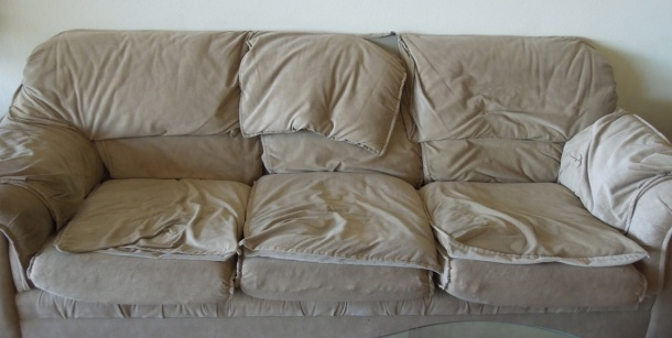 Saddest Sofa in the World