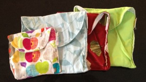 Island Picnic snack bags, cute and functional all over.