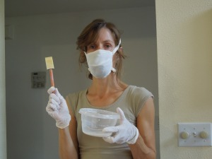 I can sympathize with their struggle.  Here is a recent attempt to phase out certain toxic substances in my home.  I even look as weary as a government employee.